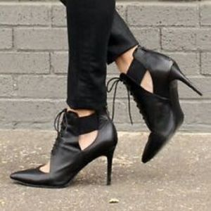 Banana Republic Lace-Up Heels